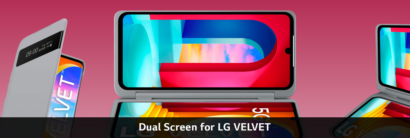 Dual Screen for LG VELVET