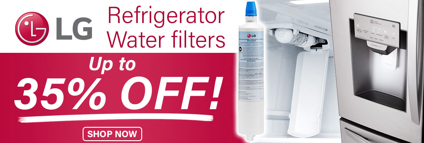 LG Refrigerator Water Filters - Up to 35% Off!