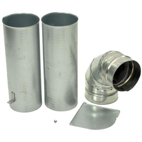 Lg 383eel9001b Electric Dryer Side Venting Bottom Exhaust Kit